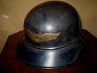 Nazi WW2 Police Steel Helmet, German, Luftschutz, Militaria