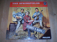 Folk Songs From the Hills, The Springfields, Vinyl LP Album, Near Mint