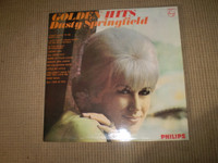 Golden Hits Dusty Springfield Stereo Vinyl LP Album, 1966 First Issue, Near Mint