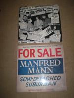 Manfred Mann Greatest Hits Vinyl LP Album, Semi Detached, Near Mint