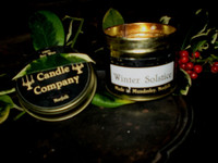 English Country Christmas Clove & Cinnamon Soy Gift Candle, Hand Made in Norfolk