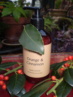 Luxury Christmas Gift Cinnamon Hand Lotion, Made on a farm in Cornwall, Stunning Gift