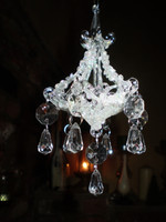 Danish Luxury Christmas Chandelier Tree Ornament Decoration
