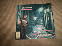 Alexander Vinyl French 1958 LP Album, Parisienne Instrumental Music, Near Mint