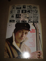 Bob Dylan's First Vinyl LP Album, Near Mint Stereo pressing