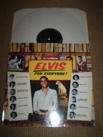 Elvis For Everyone Vinyl LP Stereo Album, Near Mint German Issue