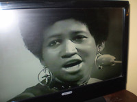 Aretha Franklin giving an amazing live performance in 1970