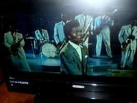 "Little Richard singing the classic ""Ready Teady"""