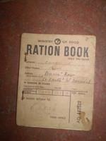 Vintage British 1943 WW2 Food ration book, pretty good condition