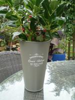 Vintage French metal vase in superb condition