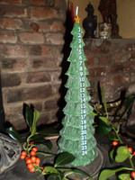 Luxury Danish Christmas Tree Advent Candle,  Calendar