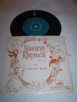 Nursery Rhymes no 2 1959 EP, Near Mint condition, 7EG8373