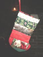 Danish Christmas Fairy stocking gift bag