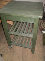 Vintage Norfolk garden potting shed bench,shabby chic,garden reclamation