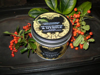 Luxury Victorian fragrance scented candle tin, orange blossom & myrtle