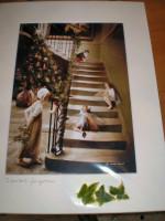 English Fairy print.Christmas Eve