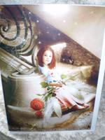 English Fairy Christmas Card,Christmas Eve