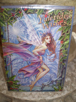Traditional English Christmas Yuletide Fairy card,Eco Friendly Cards