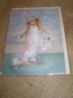 English Fairy Card,Little Miss Twinke toes