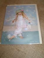 English Fairy Card,Little Miss Twinke toes
