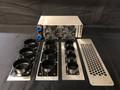 "AMC Marine Hydronic High Velocity Defrost Fan Heater, 3 x 3"" (8,400 BTU's)"