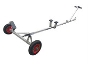 Universal Small Boat Launch Trailer Hand Dolly - Kayaks, Canoes