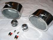 6x9 Wakeboard Tower Marine Speaker Cans - Polished or Black