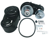 Bullet Lines 40 Series Torque Converter - Complete Kit - Back Plate - 8HP - 18HP Engines - TC40-100-10t-12t