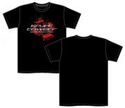 Krypt Towers Black Cross Logo T-Shirt