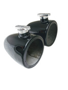"""Malibu Illusion X Wakeboard Tower Speaker Cans - 6.5"""", 7.7"""", and 8""""- Polished or Black"""