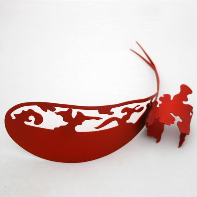 red head piece + cuff