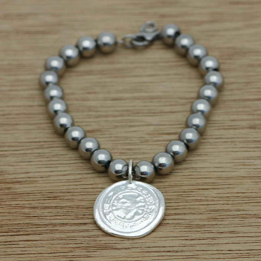 sterling silver and stainless bracelets
