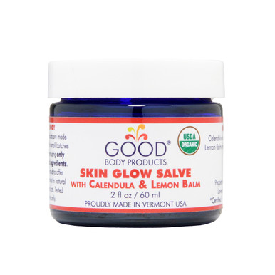 Good Body Products SKIN GLOW SALVE with Calendula & Lemon Balm
