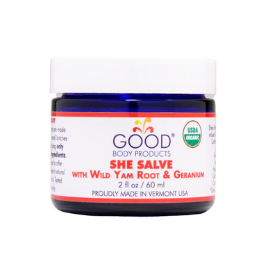 Good Body Products SHE SALVE with Wild Yam Root & Geranium