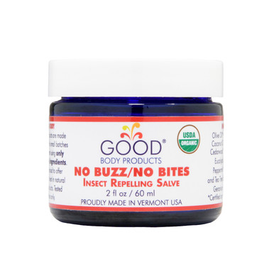 Good Body Products NO BUZZ/NO BITES Insect Repelling Salve