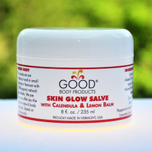 Good Body Products SKIN GLOW SALVE with Calendula & Lemon Balm PRO (8 oz)