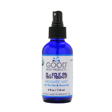 Good Body Products Organic ReFRESH Antimicrobial Mist
