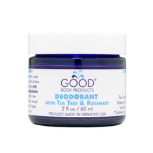 Good Body Products DEODORANT with Tea Tree & Rosemary