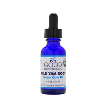 Good Body Product WILD YAM ROOT-infused Olive Oil