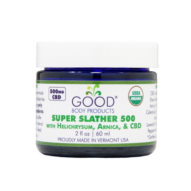 Good Body Products Super Slather 500 front