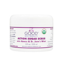 ACTION SUGAR SCRUB with Arnica & St. John's Wort