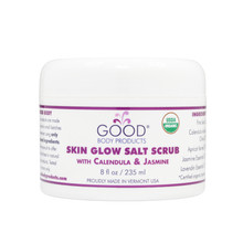 SKIN GLOW SALT SCRUB with Calendula & Lemon Balm