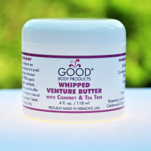 Good Body Products WHIPPED VENTURE BUTTER with Comfrey & Tea Tree