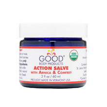 Good Body Products ACTION SALVE with Arnica & Comfrey