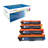 LinkToner Compatible Toner Cartridge Replacement Multi-Pack for Brother TN221, TN241, TN251, TN261, TN291BK, TN225, TN245, TN255, TN265, TN295CMY Laser Photo Printer Laser Photo Printer DCP-9020CDN,