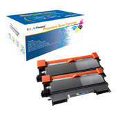 LinkToner Compatible Toner Cartridge Replacement for Brother TN450 BK 2 Pack Laser Photo Printer DCP-7060, DCP-7060D, DCP-7065DN, DCP-7070DW, HL-2220, HL-2230, HL-2240, HL-2240D, HL-2242D, HL-2250DN,