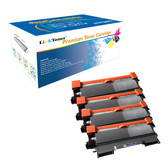 LinkToner Compatible Toner Cartridge Replacement for Brother TN450 BK 4 Pack Laser Photo Printer DCP-7060, DCP-7060D, DCP-7065DN, DCP-7070DW, HL-2220, HL-2230, HL-2240, HL-2240D, HL-2242D, HL-2250DN,