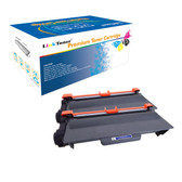 LinkToner Brother TN750 Compatible Toner Cartridge Replacement for Brother TN750 BK 2 Pack Laser Photo Printer