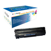 LinkToner Compatible Toner Cartridge Replacement for HP CB435A BK LaserJet Photo Printer