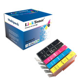 LinkToner Compatible Ink Cartridge Replacement for HP 564, HP564. Photosmart 5510, 5511, 7515, 6525, 5514, 6512, 7520, 6510, 5512, 5520, 6515, 6520, 7510, 5515, Officejet 4622, Officejet 4620, Officej
